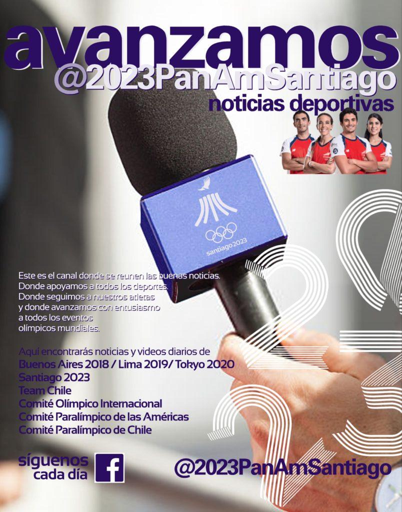 Avanzamos Juegos Panamericanos Santiago 2023 noticias deportivas 96