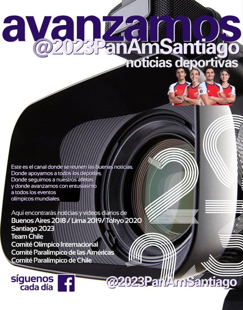 Avanzamos Juegos Panamericanos Santiago 2023 noticias deportivas 97