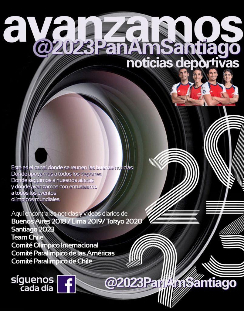 Avanzamos Juegos Panamericanos Santiago 2023 noticias deportivas 99