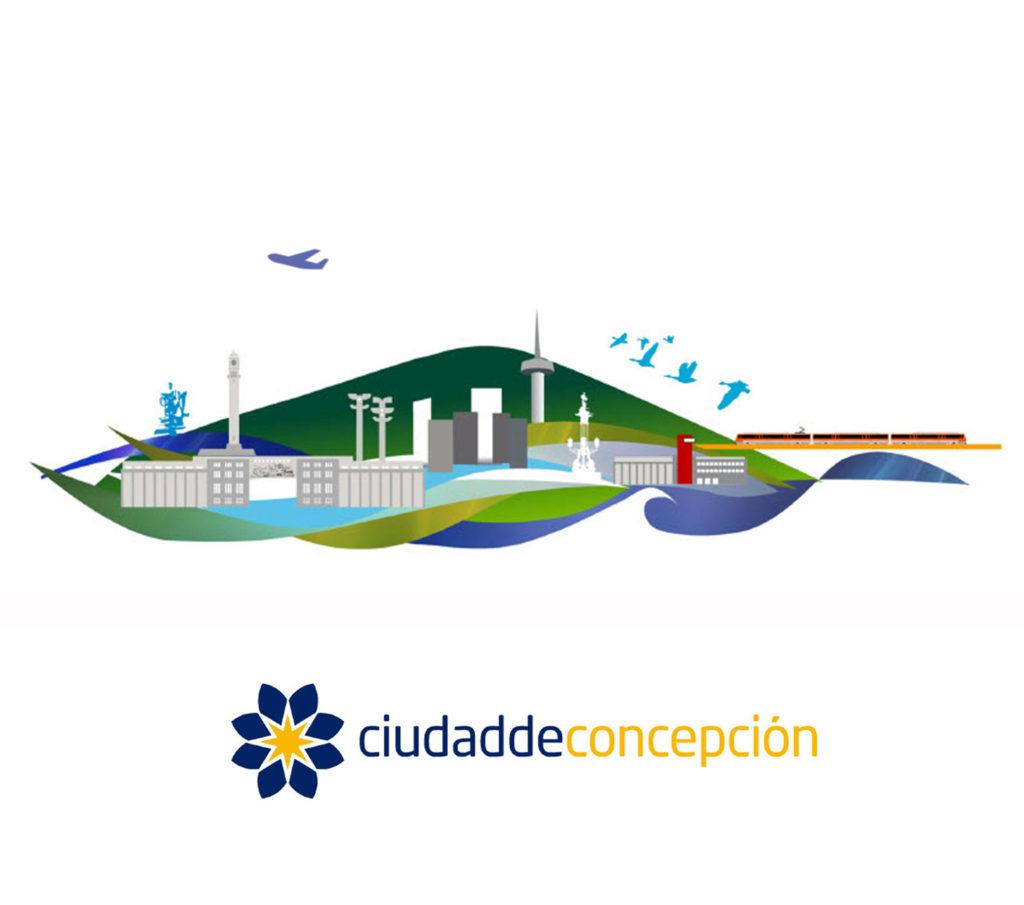 Ciudad de Concepcion City Branding Skyline ES