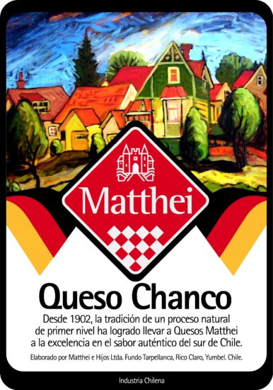 Quesos Matthei Packaging 2