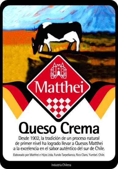 Quesos Matthei Packaging 3