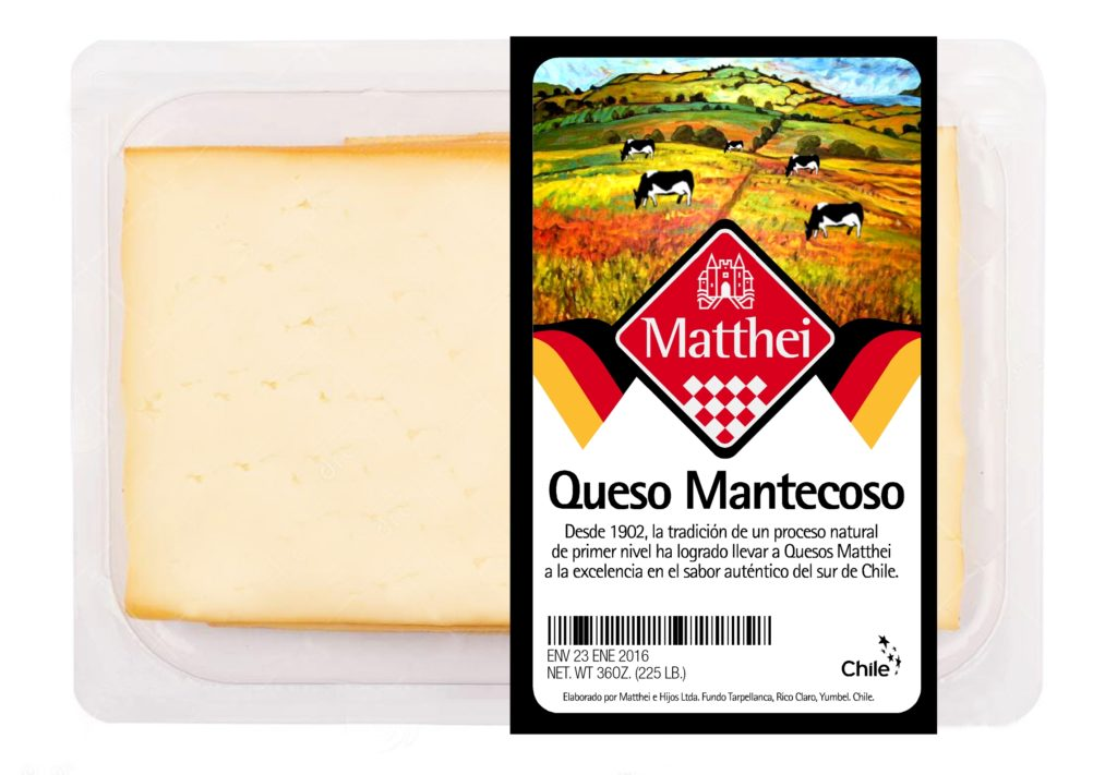 Quesos Matthei Packaging 5
