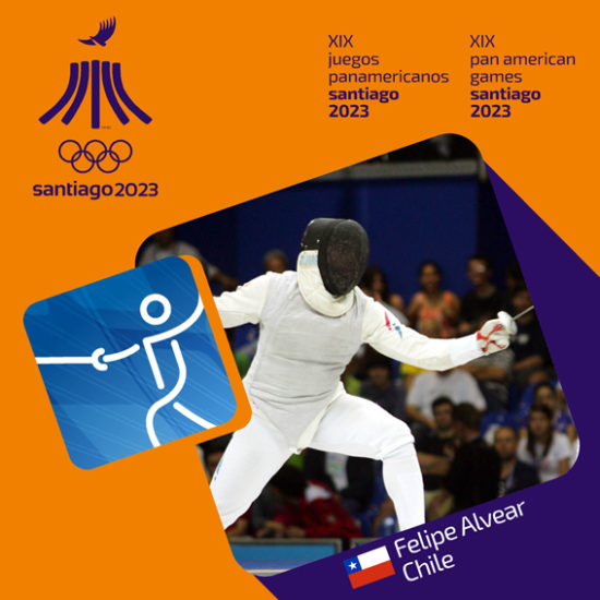 Pictograma Panamericanos Santiago 2023 8