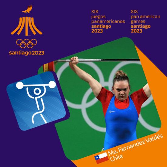 Pictograma Panamericanos Santiago 2023 992