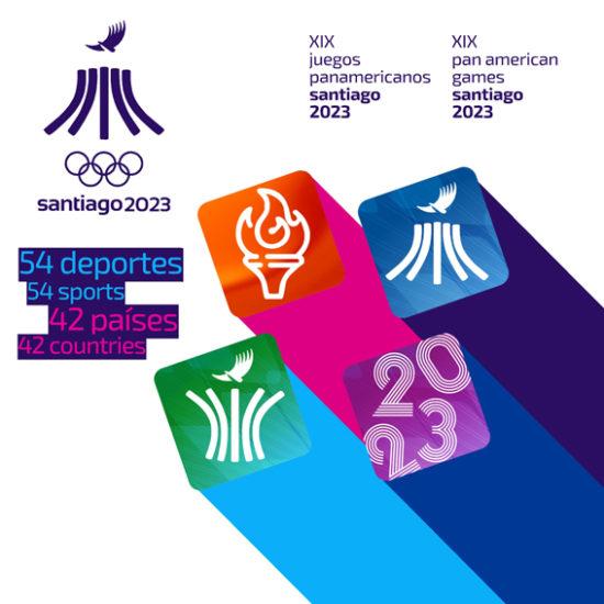 Pictograma Panamericanos Santiago 2023 A