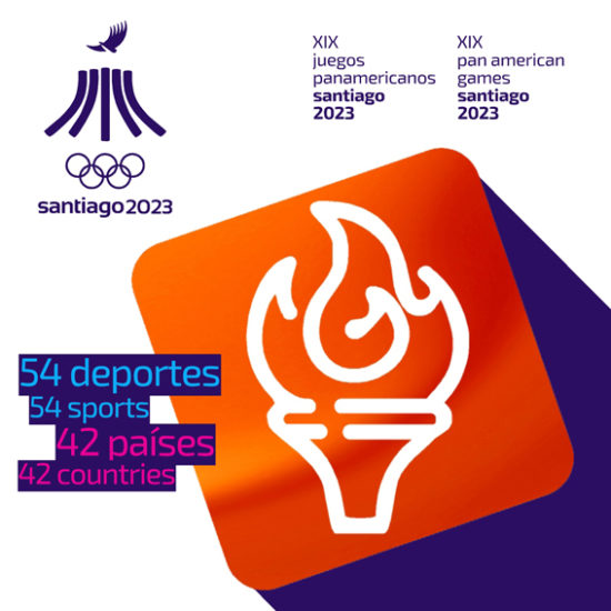 Pictograma Panamericanos Santiago 2023 B