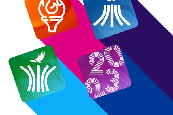 Pictogramas oficiales Juegos Panamericanos Santiago 2023 D