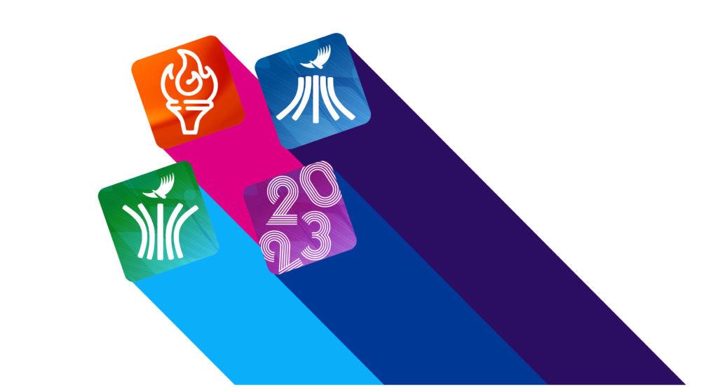 Pictogramas oficiales Juegos Panamericanos Santiago 2023 E