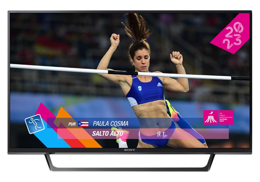 Pictogramas oficiales Juegos Panamericanos Santiago 2023 F