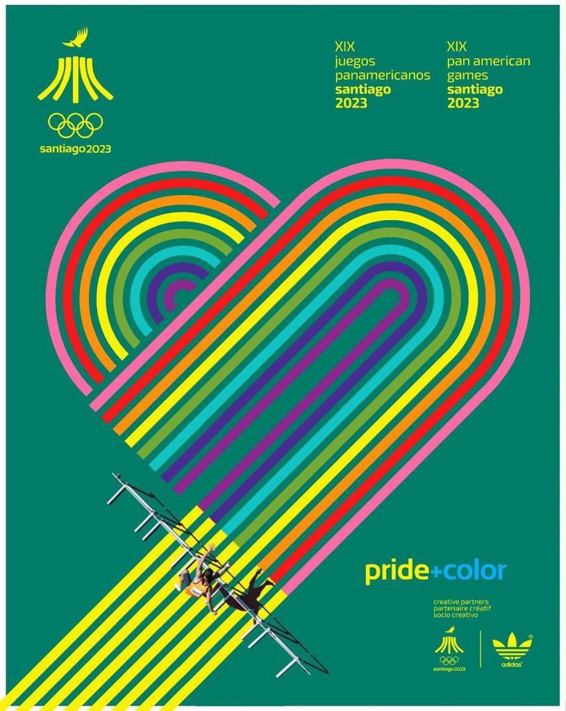 Juegos Panamericanos Santiago 2023 Pride Color 1