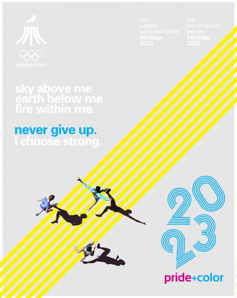 Juegos Panamericanos Santiago 2023 Pride Color 10