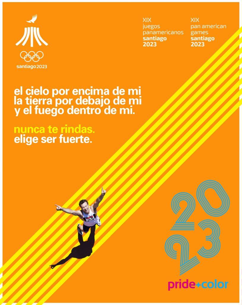 Juegos Panamericanos Santiago 2023 Pride Color 12