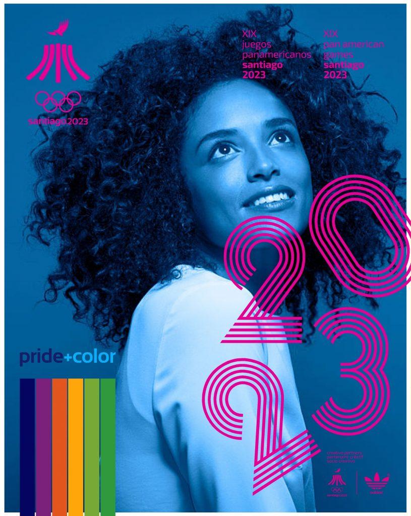 Juegos Panamericanos Santiago 2023 Pride Color 13
