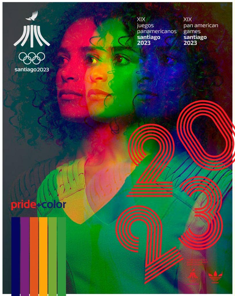 Juegos Panamericanos Santiago 2023 Pride Color 15