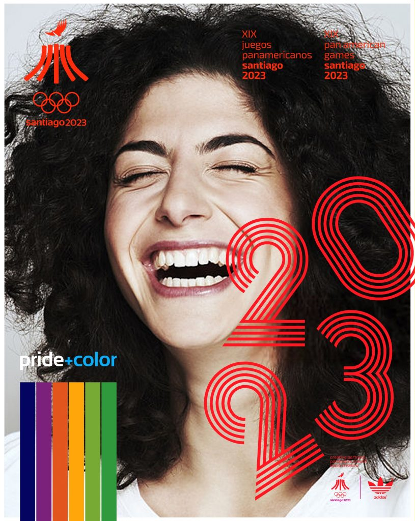 Juegos Panamericanos Santiago 2023 Pride Color 16