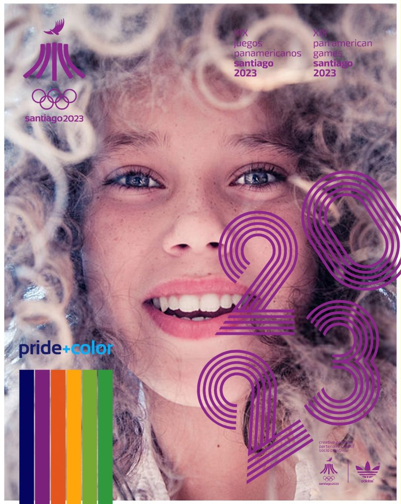 Juegos Panamericanos Santiago 2023 Pride Color 17