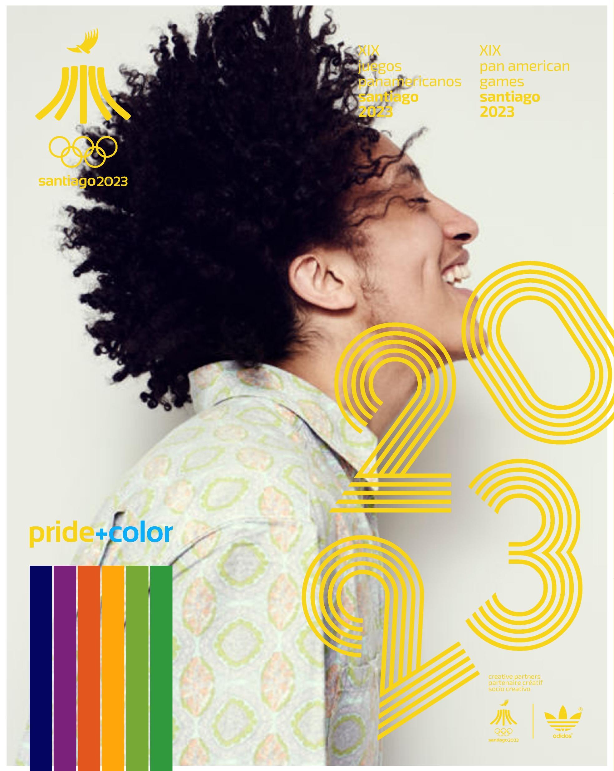 Juegos Panamericanos Santiago 2023 Pride Color 19