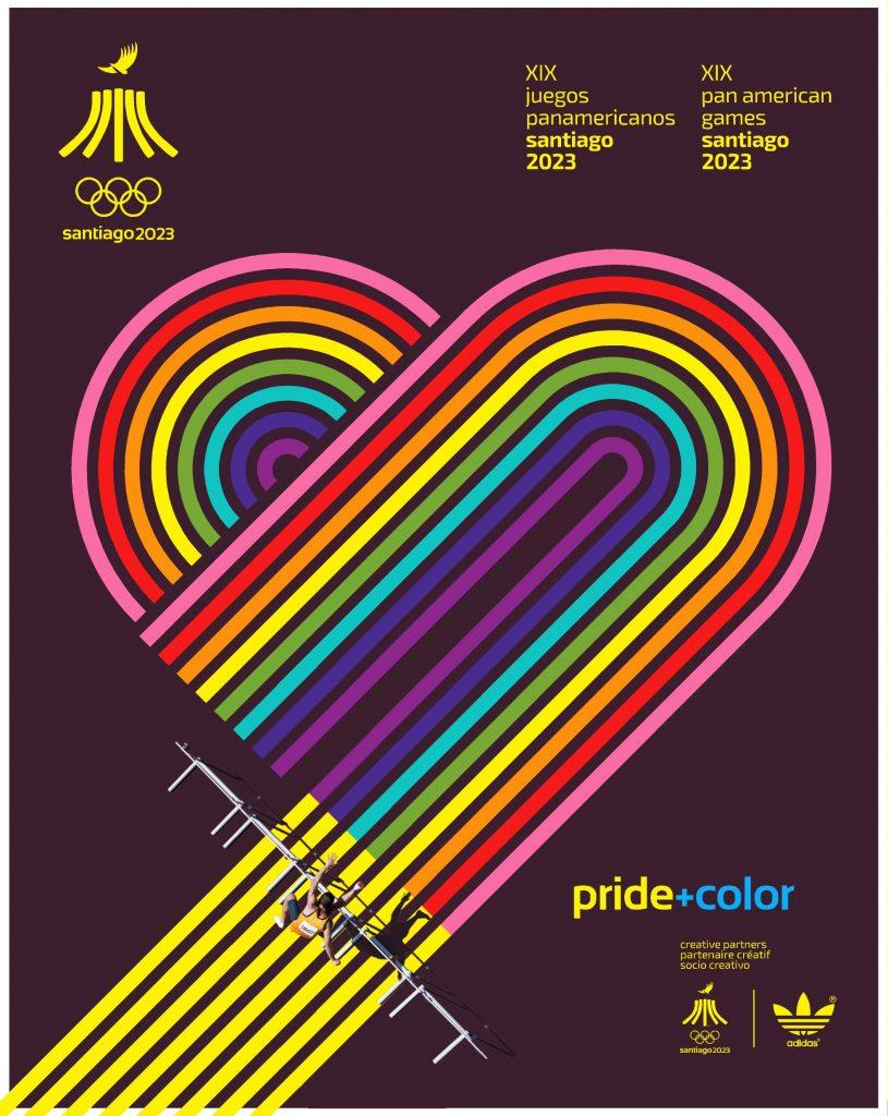 Juegos Panamericanos Santiago 2023 Pride Color 2