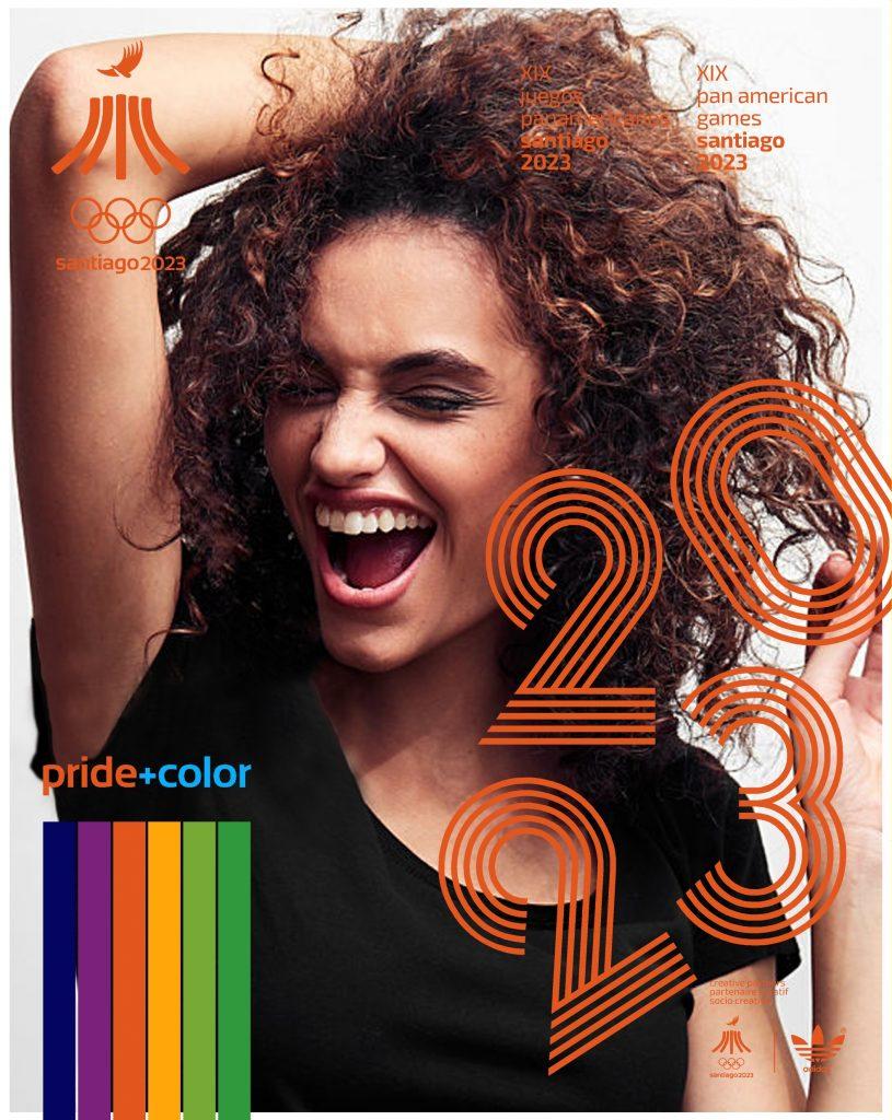 Juegos Panamericanos Santiago 2023 Pride Color 21