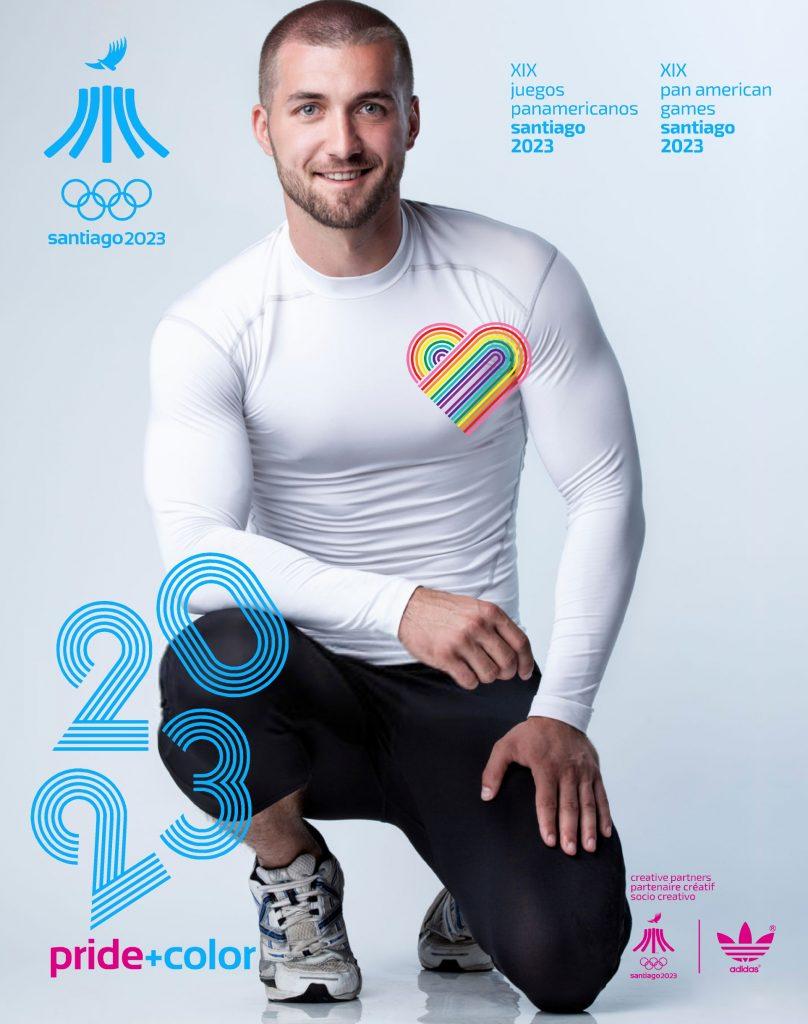 Juegos Panamericanos Santiago 2023 Pride Color 23