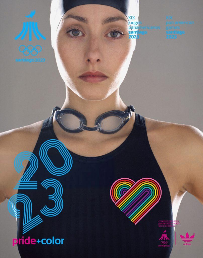 Juegos Panamericanos Santiago 2023 Pride Color 26