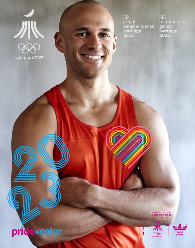 Juegos Panamericanos Santiago 2023 Pride Color 28