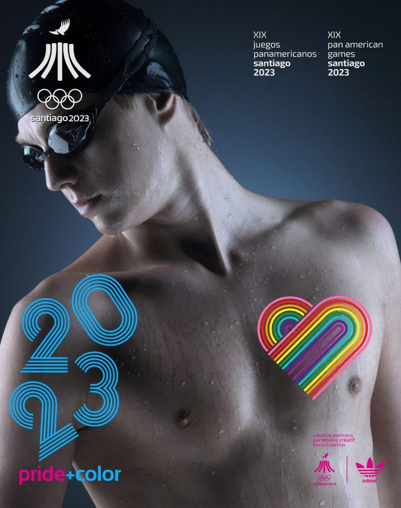 Juegos Panamericanos Santiago 2023 Pride Color 30