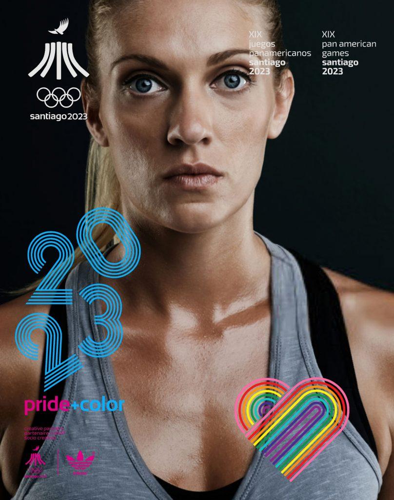 Juegos Panamericanos Santiago 2023 Pride Color 32
