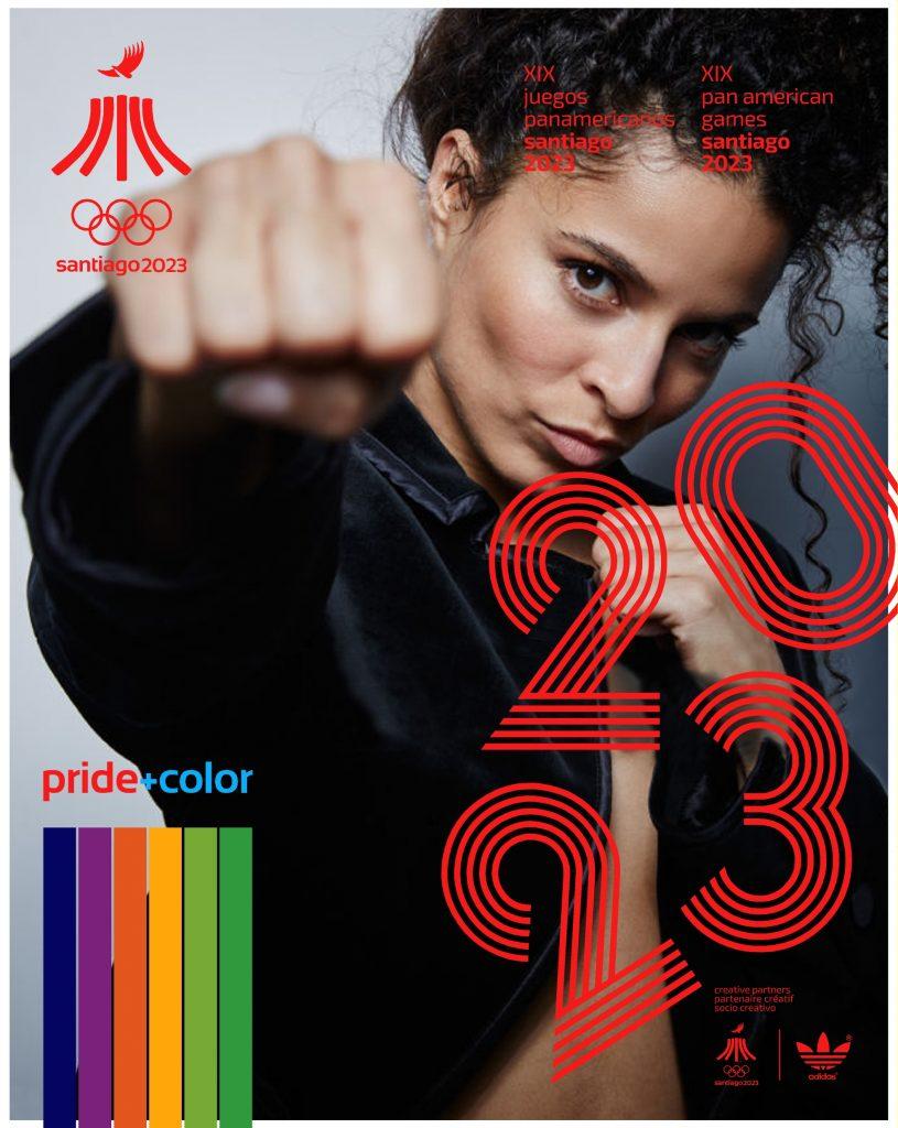 Juegos Panamericanos Santiago 2023 Pride Color 33