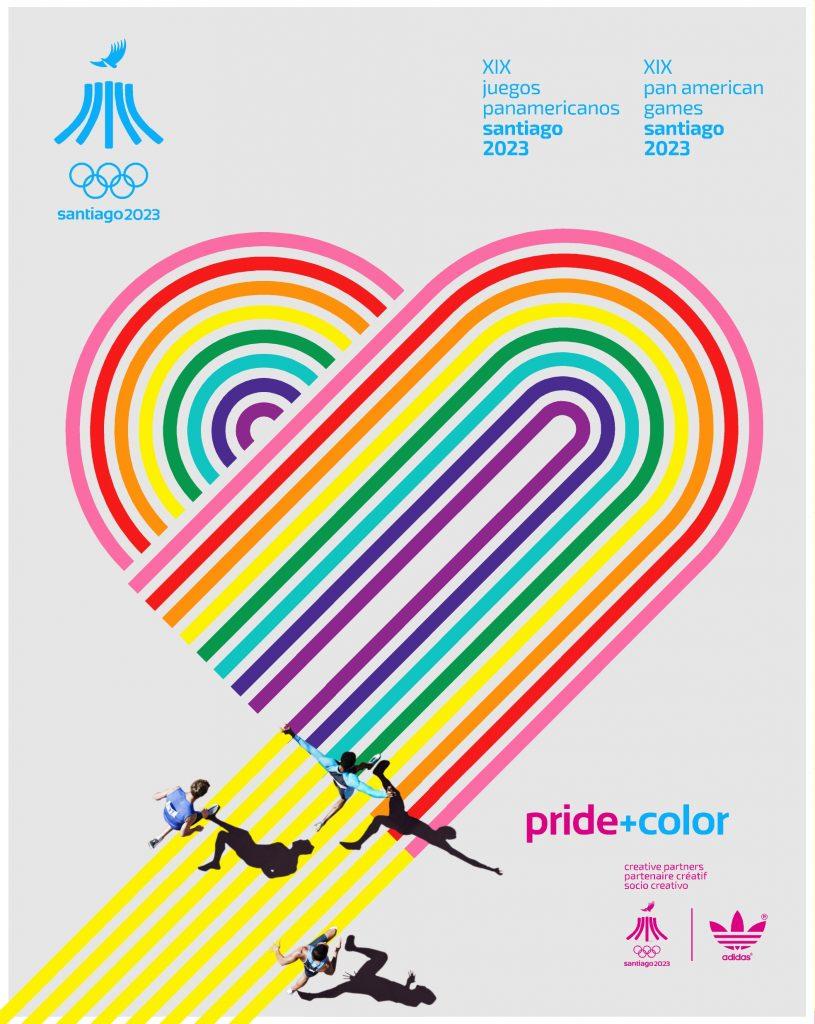 Juegos Panamericanos Santiago 2023 Pride Color 4