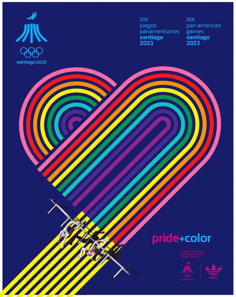 Juegos Panamericanos Santiago 2023 Pride Color 5