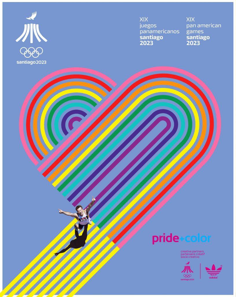 Juegos Panamericanos Santiago 2023 Pride Color 6