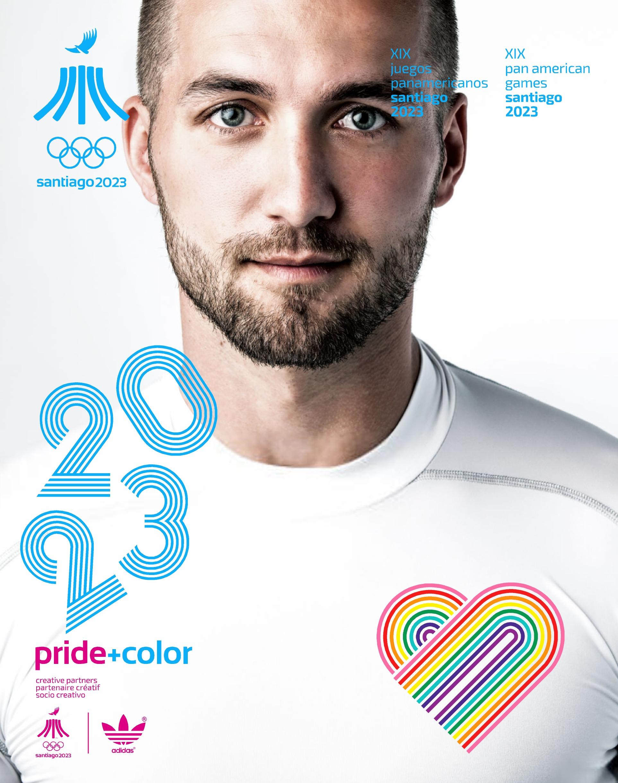 Juegos Panamericanos Santiago 2023 Pride Color 8