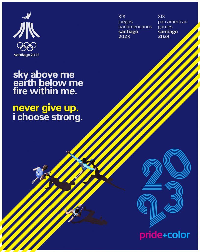 Juegos Panamericanos Santiago 2023 Pride Color 9