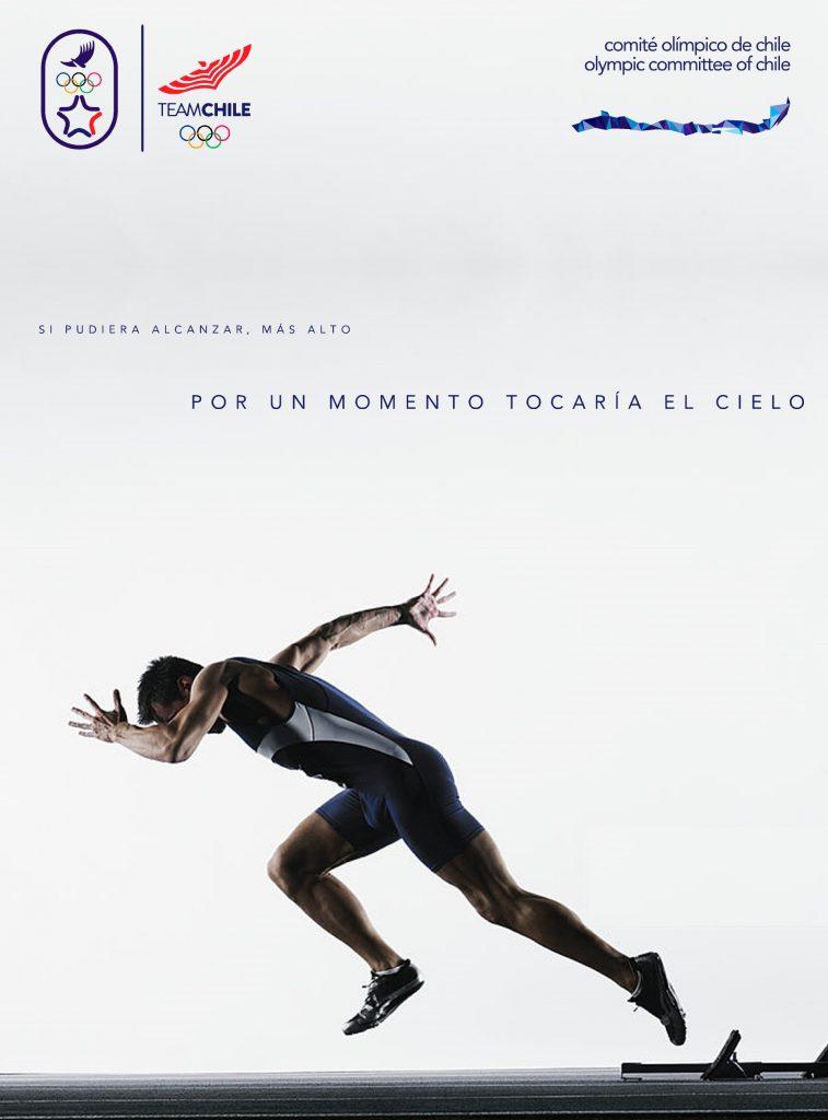 Santiago 2023 Comite Olimpico Chile Branding Afiche 2