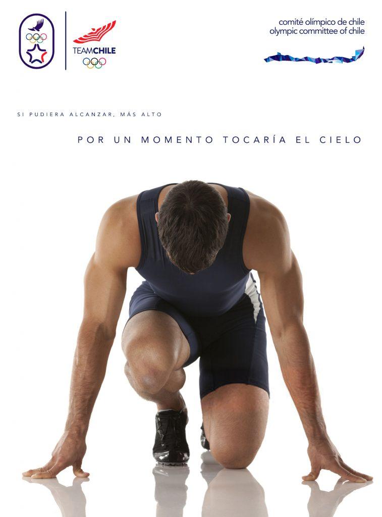 Santiago 2023 Comite Olimpico Chile Branding Afiche 3