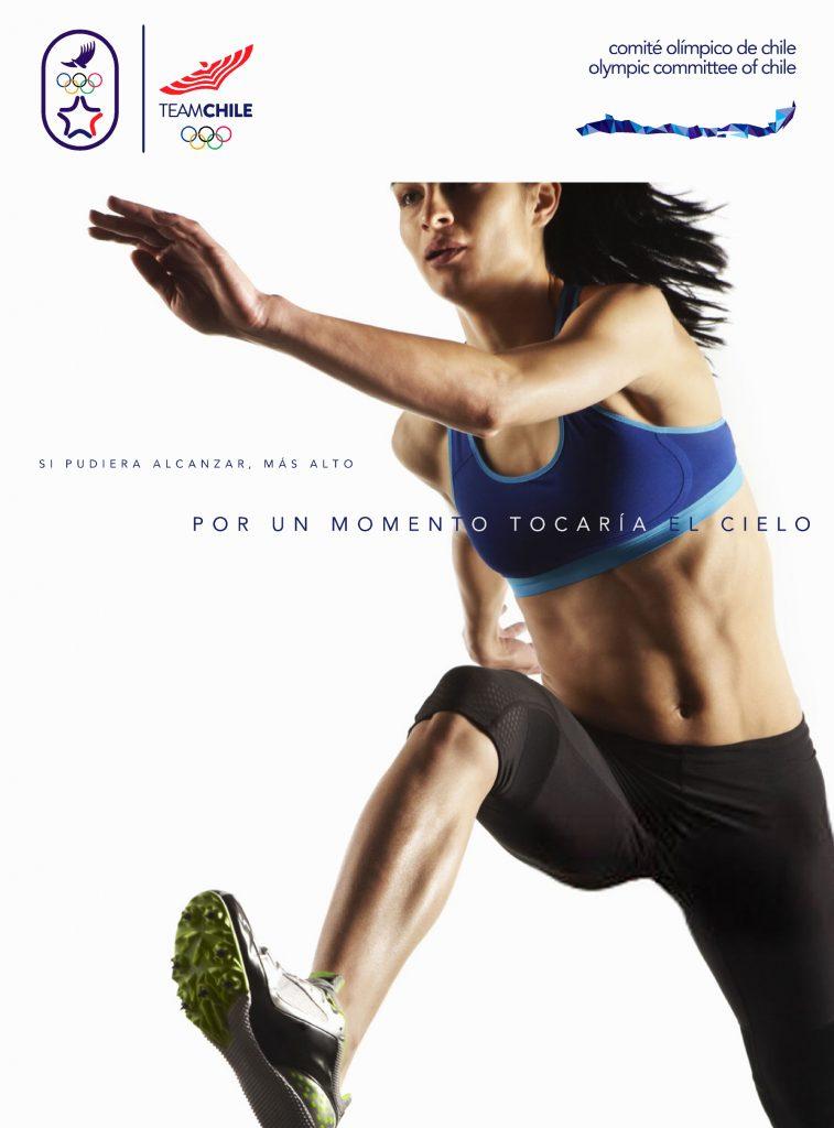 Santiago 2023 Comite Olimpico Chile Branding Afiche 4