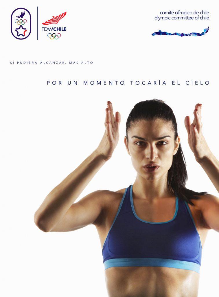 Santiago 2023 Comite Olimpico Chile Branding Afiche 5