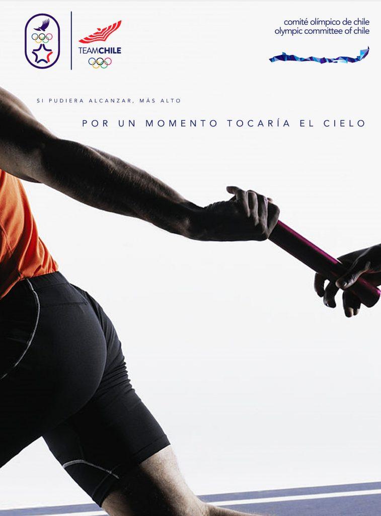 Santiago 2023 Comite Olimpico Chile Branding Afiche 8