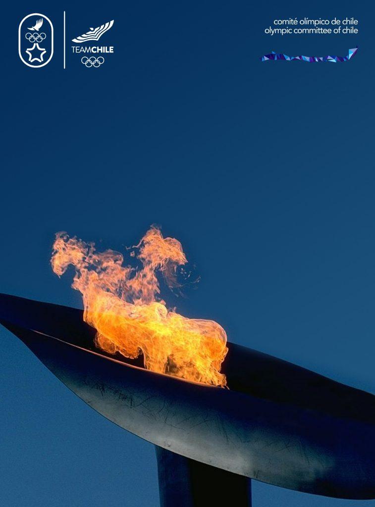 Santiago 2023 Comite Olimpico Chile Branding Afiche COCH A
