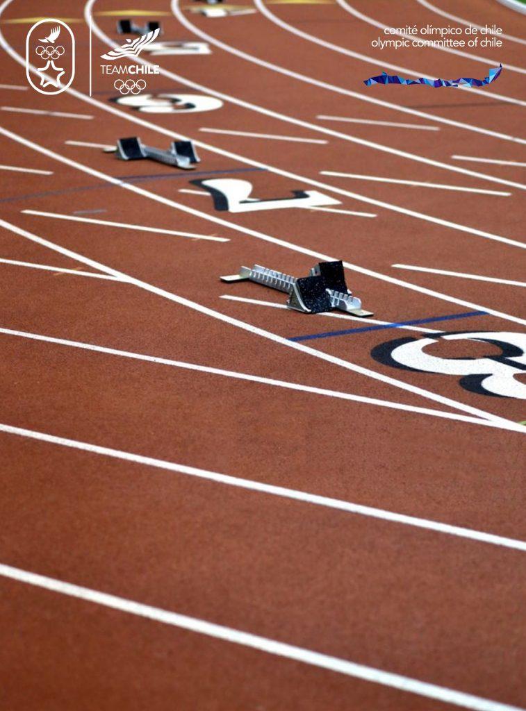 Santiago 2023 Comite Olimpico Chile Branding Afiche COCH C