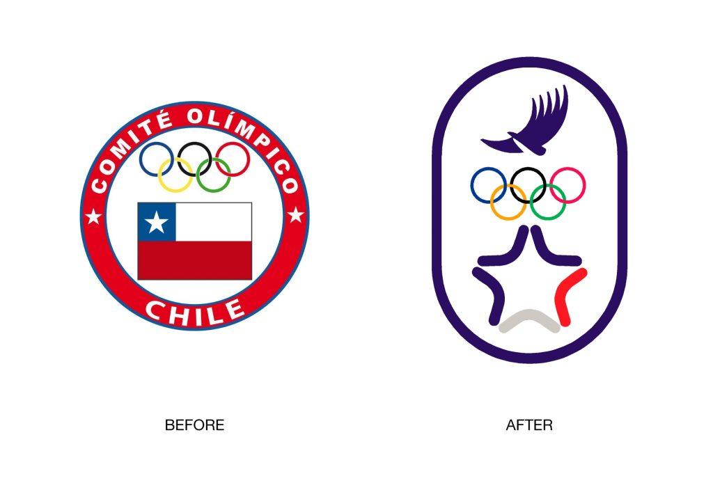 Santiago 2023 Estudio Branding Comite Olimpico Chile Logo1