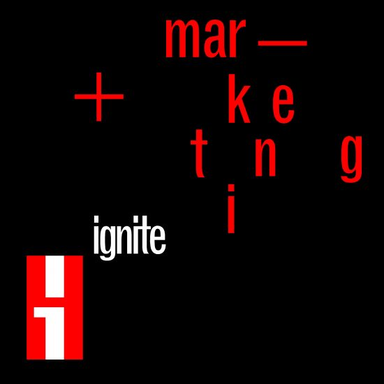IGNITE logo black marketing